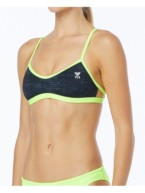TYR Sandblasted Mojave Tieback Bikini Top Women black